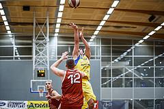 Basketball, Admiral Basketball Superliga 2019/20, Grunddurchgang 18.Runde, SKN St. Pölten Basketball, Traiskirchen Lions, Florian Trmal (12)