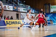 Basketball, ABL 2018/19, Grunddurchgang 1.Runde, Oberwart Gunners, BC Vienna, Jakob Szkutta (4)