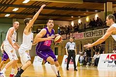 Basketball, 2.Bundesliga, Grunddurchgang 2.Runde, Mattersburg Rocks, Vienna DC Timberwolves, Vincent Polakovic (15)