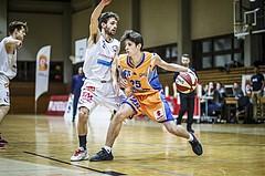 Basketball, 2.Bundesliga, Grunddurchgang 4.Runde, Mattersburg Rocks, BBU Salzburg, Elvir Jakupovic (25)