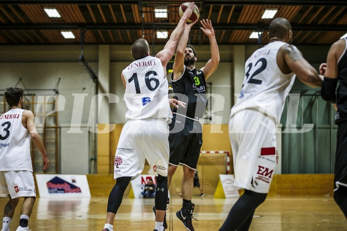 Basketball, 2.Bundesliga, Grunddurchgang 9.Runde, Mattersburg Rocks, Basket Flames, Denis Soldo (19)