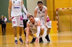 Basketball, ABL 2016/17, CUP 2.Runde, Mattersburg Rocks, Fürstenfeld Panthers, Corey HALLETT (16), Stefan ULREICH (11)