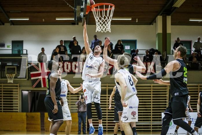 Basketball, 2.Bundesliga, Grunddurchgang 9.Runde, Mattersburg Rocks, Basket Flames, Corey HALETT (16)