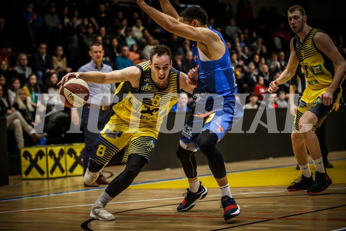 Basketball, ABL 2018/19, Grunddurchgang 17.Runde, UBSC Graz, Kapfenberg Bulls, Anton Maresch (8)