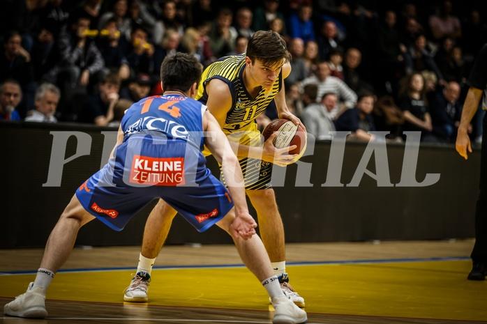 Basketball, ABL 2018/19, Grunddurchgang 17.Runde, UBSC Graz, Kapfenberg Bulls, Jakob Ernst (11)