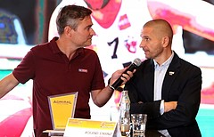 Basketball ABL 2017/18, Pressekonferenz 2017  vs.