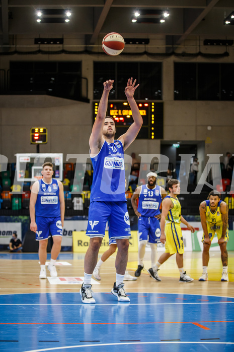 Basketball, bet-at-home Basketball Superliga 2020/21, Grunddurchgang 3. Runde, UBSC Graz, Oberwart Gunners, Quincy Diggs (13)