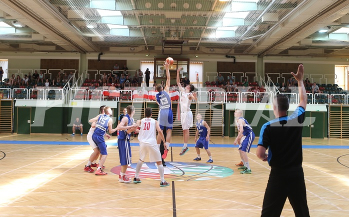 Basketball FIBA U18 European Championship Men 2015 DIV B Team Austria vs. Team Estonia