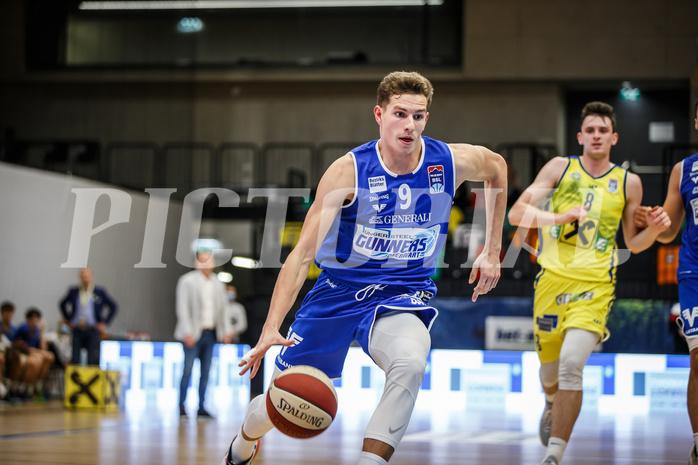 Basketball, bet-at-home Basketball Superliga 2020/21, Grunddurchgang 3. Runde, UBSC Graz, Oberwart Gunners, Edi Patekar (9)