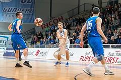 Basketball, ABL 2016/17, CUP VF, Oberwart Gunners, UBSC Graz, Georg Wolf (10)