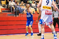 Basketball, ABL 2017/18, Grunddurchgang 7.Runde, Kapfenberg Bulls, Oberwart Gunners, Cody Wichman (13)