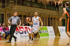 Basketball, 2.Bundesliga, Grunddurchgang 19.Runde, Mattersburg Rocks, Basket Flames, Jan Nicoli (3)