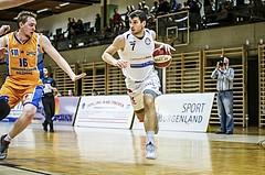 Basketball, 2.Bundesliga, Grunddurchgang 4.Runde, Mattersburg Rocks, BBU Salzburg, Marko SOLDO (7)