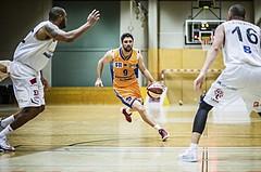 Basketball, 2.Bundesliga, Grunddurchgang 4.Runde, Mattersburg Rocks, BBU Salzburg, Luka Milovac (9)