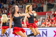 Basketball ABL 2015/16, Playoff Finale Spiel 3 WBC Wels vs. Oberwart GUNNERS