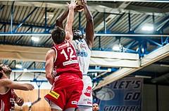 Basketball, ABL 2018/19, Grunddurchgang 1.Runde, Oberwart Gunners, BC Vienna, Chris Tawiah (14)