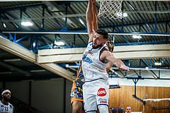 Basketball, bet-at-home Basketball Superliga 2020/21, Grunddurchgang 8. Runde, Oberwart Gunners, Klosterneuburg Dukes, Edin Bavcic (13); Ignas Fiodorovas (5)