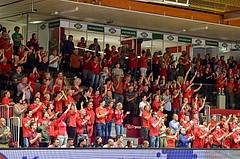 Basketball ABL 2015/16 Playoff Halbfinale Spiel 1 WBC Wels vs Traiskirchen Lions