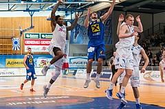 Basketball, ABL 2016/17, CUP VF, Oberwart Gunners, UBSC Graz, Milos Krivokapic (19)
