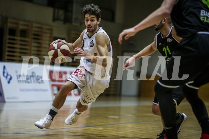 Basketball, 2.Bundesliga, Grunddurchgang 9.Runde, Mattersburg Rocks, Basket Flames, Jan NICOLI (3)