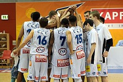 Basketball ABL 2015/16 31.Runde Kapfenberg Bulls vs WBC Wels