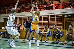 Basketball, 2.Bundesliga, Grunddurchgang 5.Runde, Mattersburg Rocks, Mistelbach Mustangs, Goran Simic (33)