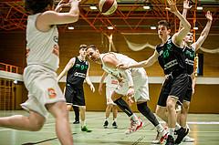 Basketball, Basketball Zweite Liga, Grunddurchgang 22.Runde, BBC Nord Dragonz, UDW Alligators Deutsch Wagram, Fuad Memcic (44)