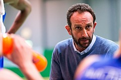 Basketball, ABL 2016/17, CUP 2.Runde, Blue Devils Wr. Neustadt, Oberwart Gunners, Chris Chougaz (Coach)
