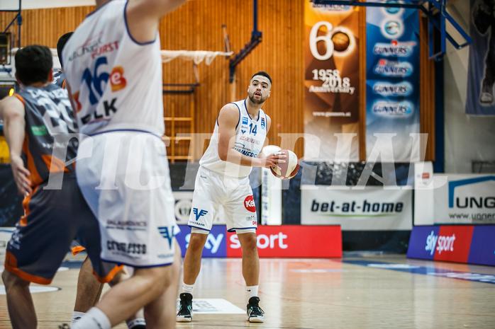 Basketball, bet-at-home Basketball Superliga 2020/21, Grunddurchgang 8. Runde, Oberwart Gunners, Klosterneuburg Dukes, Terrence Bieshaar (14)