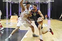 Basketball ABL 2016/17 Grunddurchgang 15.Runde BC Vienna vs Fürstenfeld Panthers