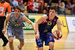 Basketball ABL 2016/17 Grunddurchgang 5.Runde WBC Wels vs Fürstenfeld Panthers