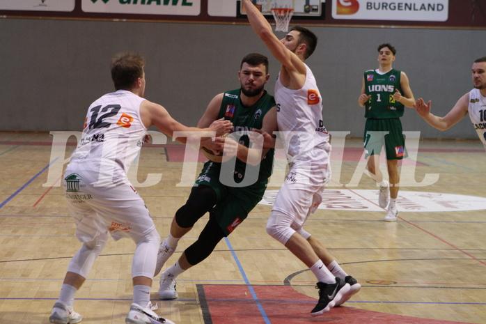 Basketball 2.Bundesliga 2020/21 Grunddurchgang 15.Runde  Jennersdorf Blackbirds vs Dornbirn Lions