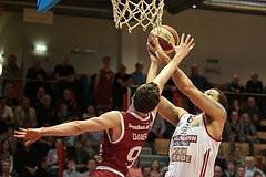 02.04.2018 Basketball ABL 2017/18 Grunddurchgang 30. Runde Traiskirchen Lions vs. BC Hallmann Vienna