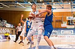 Basketball, ABL 2017/18, Grunddurchgang 2.Runde, Oberwart Gunners, UBSC Graz, Benjamin Blazevic (12)