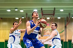Basketball, ABL 2016/17, CUP 2.Runde, Blue Devils Wr. Neustadt, Oberwart Gunners, Benjamin Blazevic (12)