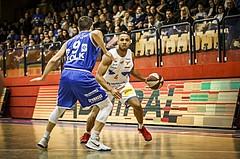 Basketball, ABL 2018/19, Grunddurchgang 16.Runde, Kapfenberg Bulls, Oberwart Gunners, Elijah Wilson (4)