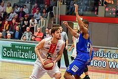 Basketball ABL 2017/18 Grunddurchgang 30. Runde Flyers Wels vs Oberwart Gunners