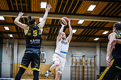 Basketball, Basketball Zweite Liga, Grunddurchgang 3.Runde, Mattersburg Rocks, Fürstenfeld Panthers, Claudio VANCURA (10)