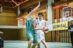 Basketball, 2.Bundesliga, Grunddurchgang 4.Runde, Mattersburg Rocks, BBU Salzburg, Lukas Knor (21)